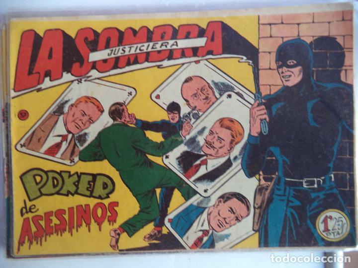 LA SOMBRA JUSTICIERA POKER DE ASESINOS Nº 37 FERMA ORIGINAL (Tebeos y Comics - Ferma - Otros)