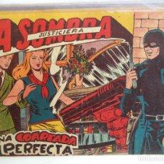 Tebeos: LA SOMBRA JUSTICIERA UNA COARTADA PERFECTA Nº 31 FERMA ORIGINAL BUEN ESTADO. Lote 149382726