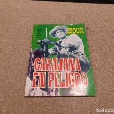 Tebeos: COMICS....NOVELA GRAFICA DEL OESTE.....CARAVANA EN PELIGRO......EDICIONES TORAY...1966...... Lote 149951078
