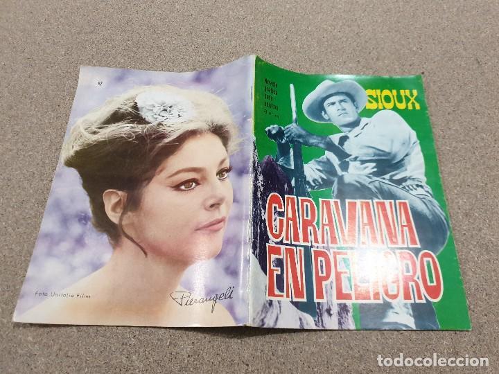 Tebeos: COMICS....NOVELA GRAFICA DEL OESTE.....CARAVANA EN PELIGRO......EDICIONES TORAY...1966..... - Foto 2 - 149951078
