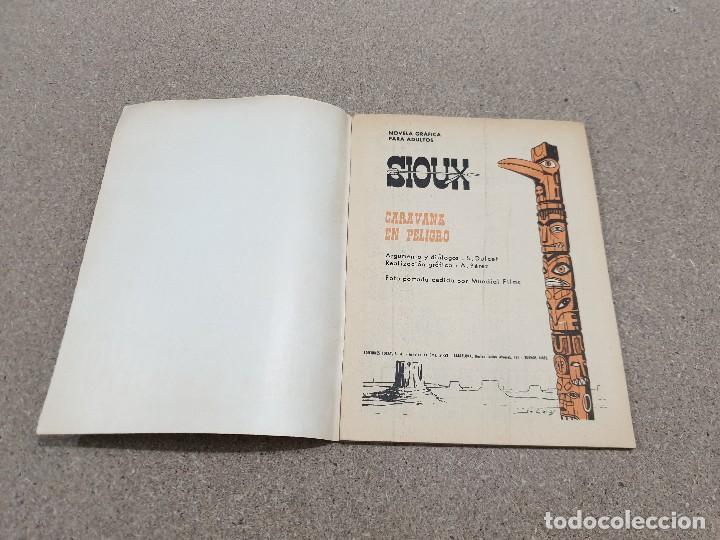 Tebeos: COMICS....NOVELA GRAFICA DEL OESTE.....CARAVANA EN PELIGRO......EDICIONES TORAY...1966..... - Foto 3 - 149951078