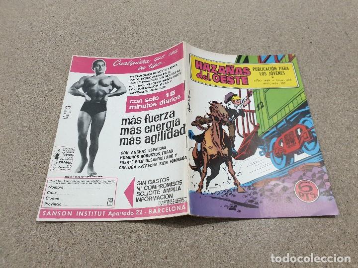Tebeos: COMICS....NOVELA GRAFICA DEL OESTE.....HAZAÑAS DEL OESTE.......EDICIONES TORAY...1959...... - Foto 2 - 149952246