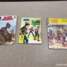 Tebeos: COMICS....NOVELA GRAFICA DEL OESTE...TRES NOVELAS GRAFICAS...1962..1966..... Lote 149955562