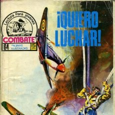 Tebeos: COMBATE- NOVELA GRÁFICA SEMANAL- Nº 47 -¡QUIERO LUCHAR!-MUY DIFÍCIL-BUENO-1979-LEAN-0217. Lote 150692712