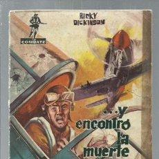 Tebeos: COMBATE 8: ...Y ENCONTRO LA MUERTE, 1962, FERMA, BUEN ESTADO. Lote 151926518
