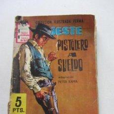 Tebeos: NOVELAS GRÁFICAS PARA ADULTOS GRAN OESTE Nº 136 PISTOLERO A SUELDO EDITORIAL FERMA 1953 VSD05. Lote 152255342