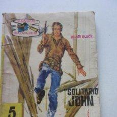 Tebeos: SOLITARIO JOHN ALAN BUICK SENDAS SALVAJES Nº 21 NOVELA GRAFICA EDITORIAL FERMA TRASERA JERRY L 1953. Lote 152257662
