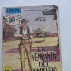 Tebeos: SENDAS SALVAJES Nº LA VENGANZA DL COMISARIO NOVELA GRAFICA EDITORIAL FERMA 1953. Lote 152258378