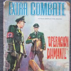 Tebeos: EXTRA COMBATE 26 OPERACIÓN DIAMANTE. NOVELAS GRÁFICAS DE GUERRA FERMA. Lote 152313798