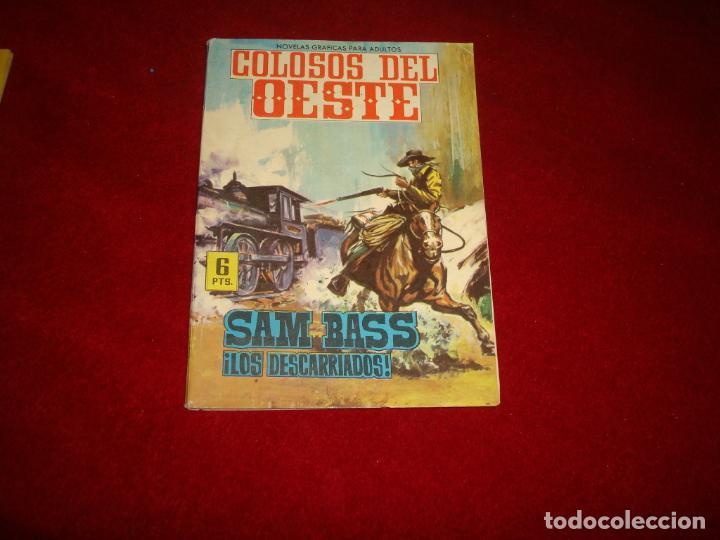 COLOSOS DEL OESTE SAM BASS LOS DESCARRIADOS EDITORIAL FERMA 7 1964 (Tebeos y Comics - Ferma - Colosos de Oeste)