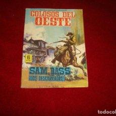 Tebeos: COLOSOS DEL OESTE SAM BASS LOS DESCARRIADOS EDITORIAL FERMA 7 1964. Lote 152524470