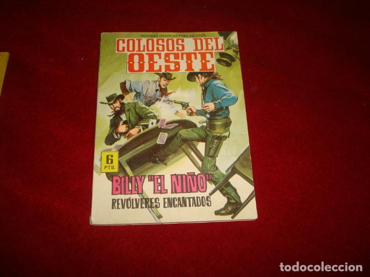 COLOSOS DEL OESTE BILLY EL NIÑO REVOLVERES ENCANTADOS EDITORIAL FERMA Nº 6 1964 (Tebeos y Comics - Ferma - Colosos de Oeste)