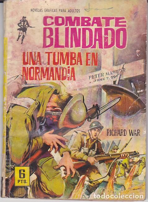 COMIC COLECCION COMBATE BLINDADO Nº 141 (Tebeos y Comics - Ferma - Combate)