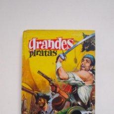 Tebeos: GRANDES PIRATAS - FLORES-LÁZARO - DIBUJO: TELLO - COLECCIÓN GRANDES Nº 2 - EDITORIAL FERMA - 1962. Lote 152963534