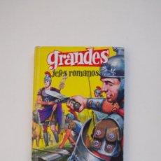 Tebeos: GRANDES JEFES ROMANOS - J. REPOLLÉS - COLECCIÓN GRANDES Nº 11 - EDITORIAL FERMA 1963. Lote 152970462