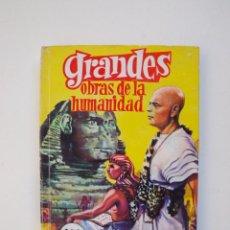 Tebeos: GRANDES OBRAS DE LA HUMANIDAD - J. VIDAL - COLECCIÓN GRANDES Nº 13 - EDITORIAL FERMA 1963. Lote 152971526