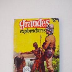 Tebeos: GRANDES EXPLORADORES - J. REPOLLÉS - COLECCIÓN GRANDES Nº 15 - EDITORIAL FERMA 1963. Lote 152971918