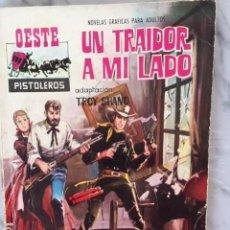 Tebeos: COLECCION OESTE PISTOLEROS - ED. FERMA - LOTE DE DOS NÚMEROS :88 Y 61. Lote 153118914