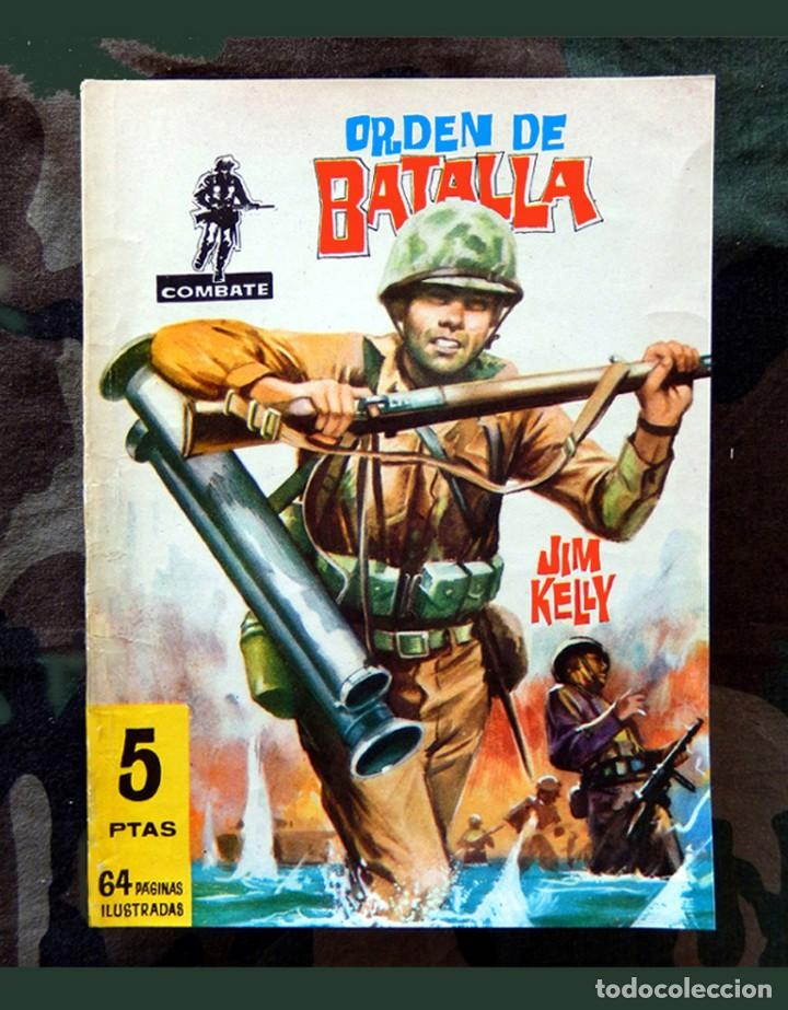 COMBATE Nº 29 - ORDEN DE BATALLA, 1969 - EDITORIAL FERMA - ORIGINAL. (Tebeos y Comics - Ferma - Combate)
