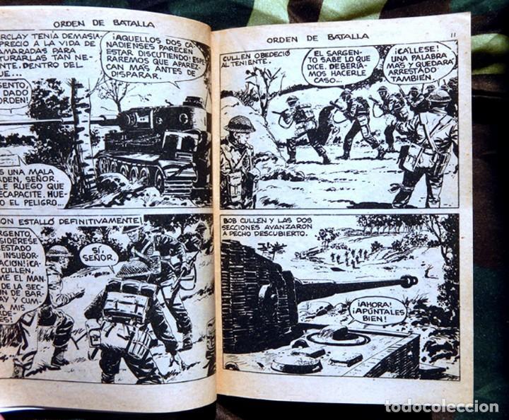 Tebeos: COMBATE Nº 29 - ORDEN DE BATALLA, 1969 - EDITORIAL FERMA - ORIGINAL. - Foto 3 - 153883438