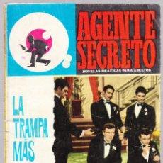 Tebeos: AGENTE SECRETO - LA TRAMPA MAS ASTUTA - 1966. Lote 154136074