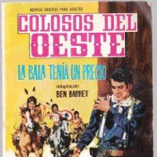 Tebeos: COLOSOS DEL OESTE Nº 97 - LA BALA TENIA UN PRECIO. Lote 154145574