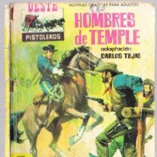 Tebeos: OESTE PISTOLEROS Nº 39 - HOMBRES DE TEMPLE - TRASERA SHELLEY WINTERS. Lote 154145854