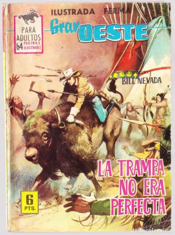 GRAN OESTE Nº 301 - LA TRAMPA NO ERA PERFECTA - TRASERA CARMEN SEVILLA (Tebeos y Comics - Ferma - Colosos de Oeste)