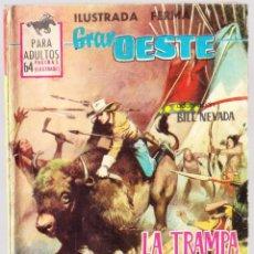 Tebeos: GRAN OESTE Nº 301 - LA TRAMPA NO ERA PERFECTA - TRASERA CARMEN SEVILLA. Lote 154146138