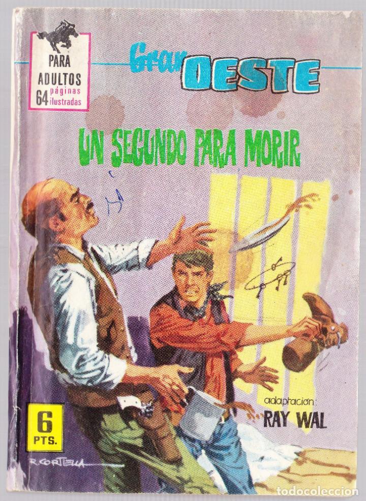 GRAN OESTE Nº 382 - UN SEGUNDO PARA MORIR (Tebeos y Comics - Ferma - Colosos de Oeste)