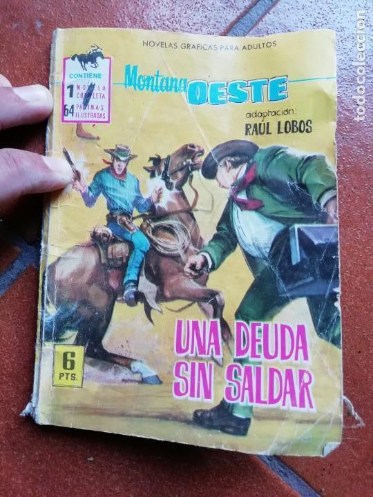 MONTANA OESTE - UNA DEUDA SIN SALDAR - FERMA (Tebeos y Comics - Ferma - Gran Oeste)