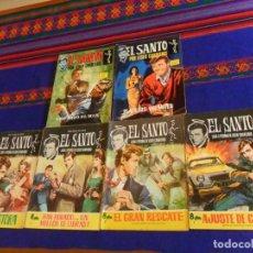 BDs: EL SANTO DE LESLIE CHARTERIS 1 2 3 4. FERMA 1965 8 PTS. REGALO EL SANTO 2 Y 3. SEMIC 1965. 8 PTS. BE. Lote 154624766