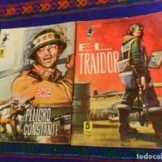 Tebeos: COMBATE EXTRA Nº 7 EL TRAIDOR Y Nº 8 PELIGRO CONSTANTE. FERMA 1963. 5 PTS.. Lote 154629494