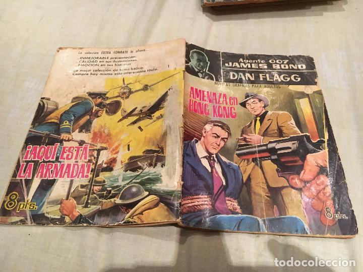 AGENTE 007 JAMES BOND.- DAN FLAGG Nº 1. FERMA 1965 (Tebeos y Comics - Ferma - Otros)