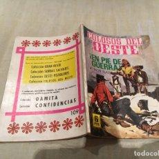Tebeos: COLOSOS DEL OESTE Nº 109 EN PIE DE GUERRA. Lote 154989158
