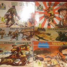 Tebeos: LOTE 6 COMICS CINECOLOR COMBATE EDITORIAL FERMA 1963. Lote 155170518