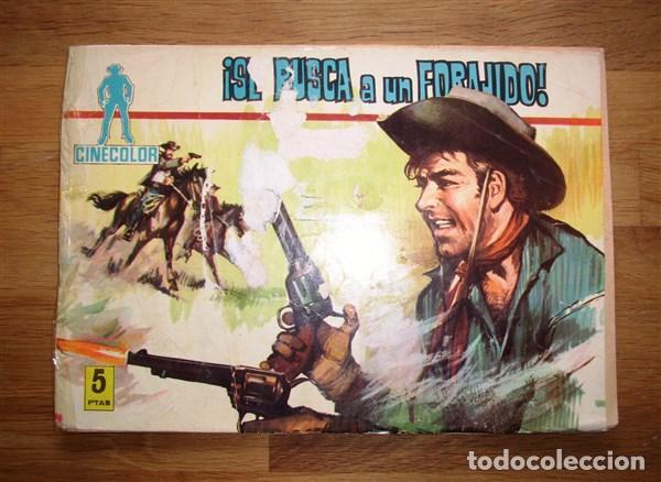 CINECOLOR. Nº 2 : SE BUSCA A UN FORAJIDO (Tebeos y Comics - Ferma - Otros)