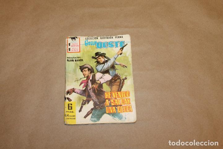 GRAN OESTE Nº 179, NOVELA GRÁFICA,EDITORIAL FERMA (Tebeos y Comics - Ferma - Gran Oeste)