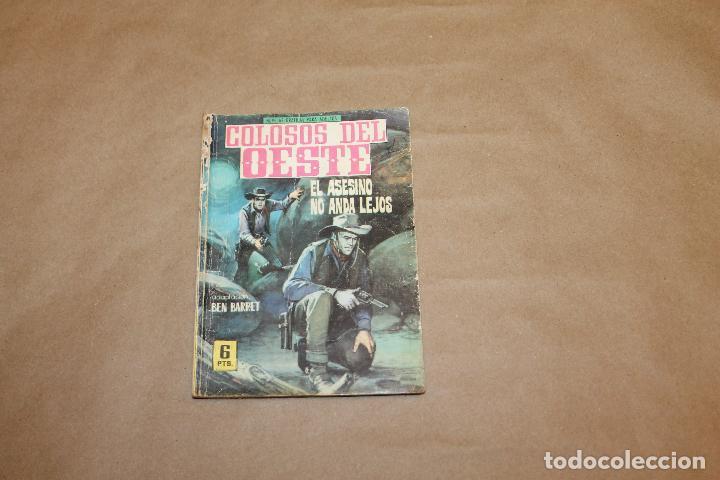 COLOSOS DEL OESTE Nº 89, NOVELA GRÁFICA,EDITORIAL FERMA (Tebeos y Comics - Ferma - Colosos de Oeste)