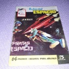 Tebeos: RUTAS DEL ESPACIO.N°12, PIRATAS DEL ESPACIO.64 PÁGINAS. EXCLUSIVAS FERMA.1957. Lote 156649366