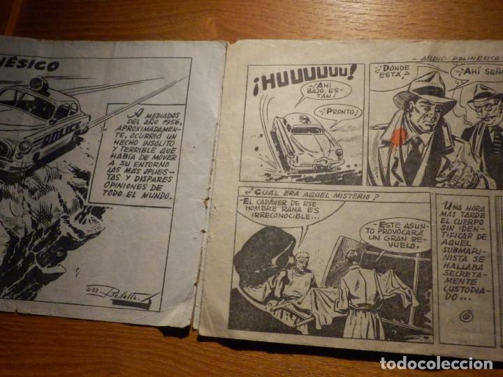 Tebeos: Comic - Fred Santos - El Hombre Rana - Ardid Polinésico - Falta pagina 4 y 5 - Para restaurar otro - Foto 2 - 156677874