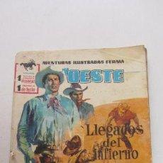 Tebeos: SELECCIONES GRAN OESTE. Nº 23: LLEGADOS DEL INFIERNO / LA SILLA DE LA MUERTE, 1963, FERMA VSD09. Lote 156693342