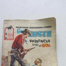 Tebeos: SELECCIONES GRAN OESTE. Nº 41: VIOLENCIA BAJO EL SOL FERMA VSD09. Lote 156697166