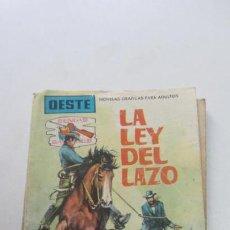 Tebeos: SENDAS SALVAJES Nº 101 LA LEY DEL LAZO, COLECCIÓN OESTE, MATT SHANO FERMA VSD09. Lote 156732438