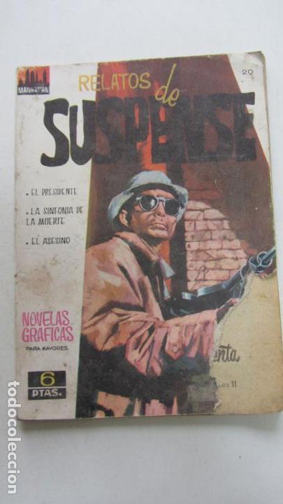 RELATOS DE SUSPENSE, Nº 20. COLECCION MANHATTAN GRÁFICA. 1964 ÚLTIMO, DIFÍCIL VSD09 (Tebeos y Comics - Ferma - Otros)