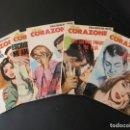 Tebeos: 5 REVISTAS GRÁFICAS SEMANALES REVISTA GRAFICA PARA ADULTOS DOS CORAZONES Nº 37 38 39 41 43. Lote 156922082