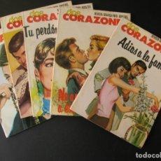 Tebeos: 5 REVISTAS GRÁFICAS SEMANALES REVISTA GRAFICA PARA ADULTOS DOS CORAZONES Nº 24 31 32 33 34 . Lote 156922110