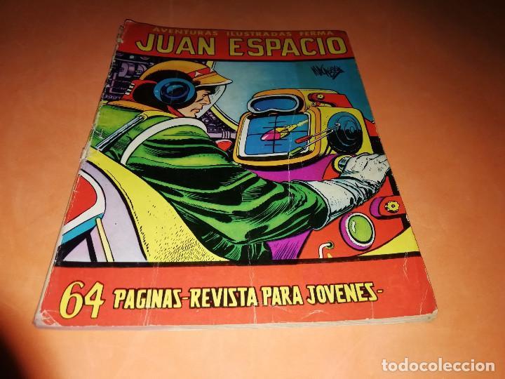 JUAN ESPACIO. AVENTURAS ILUSTRADAS FERMA. Nº 28 . 1958. (Tebeos y Comics - Ferma - Aventuras Ilustradas)
