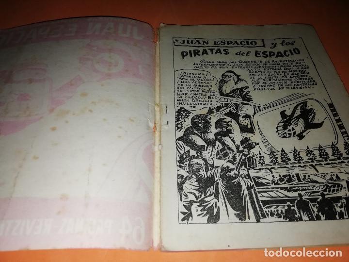 Tebeos: JUAN ESPACIO. AVENTURAS ILUSTRADAS FERMA. Nº 28 . 1958. - Foto 4 - 157207802