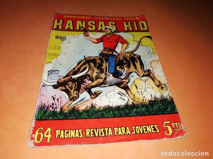 KANSAS KID. AVENTURAS ILUSTRADAS FERMA. Nº 27 . 1958. (Tebeos y Comics - Ferma - Aventuras Ilustradas)